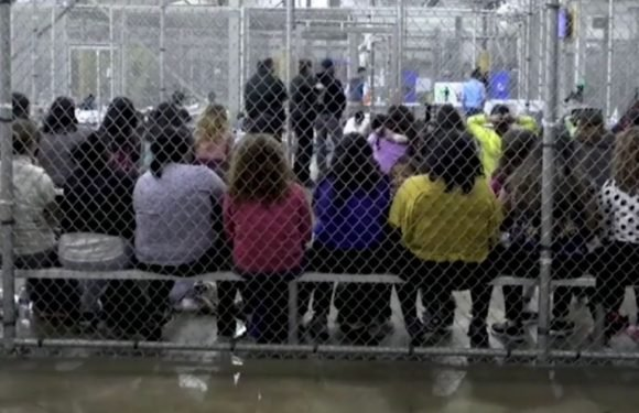 US border guards mock immigrant children they have taken from parents and caged