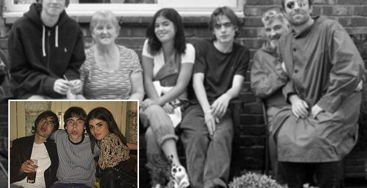 Liam Gallagher's daughter Molly Moorish meets her grandmother Peggy for the first time and shares new family snap