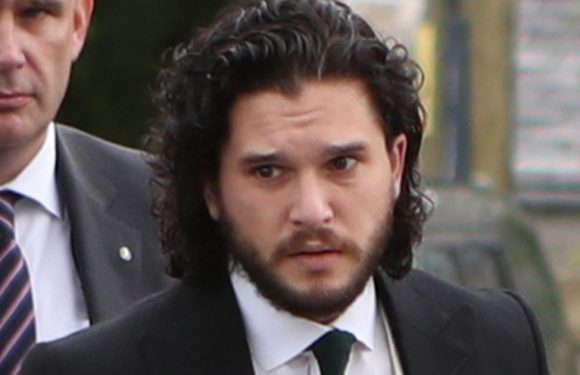 Kit Harington wedding first pictures as Game of Thrones star weds Rose Leslie