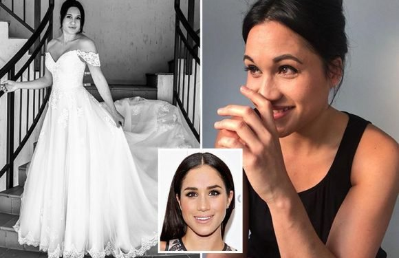 Incredible Meghan Markle lookalike blasts racist critics of the Duchess and praises the new Royal's 'grace and poise'
