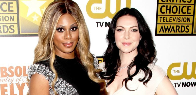 Laverne Cox Learned of Laura Prepon's Wedding on Social Media