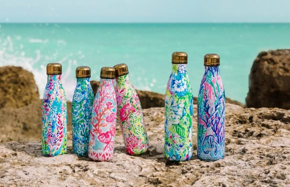 Lilly Pulitzer x Swell Printed 2018 Water Bottle Collection: Pics