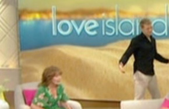Love Island's Charlie and Hayley awkwardly refuse to sit together on Lorraine