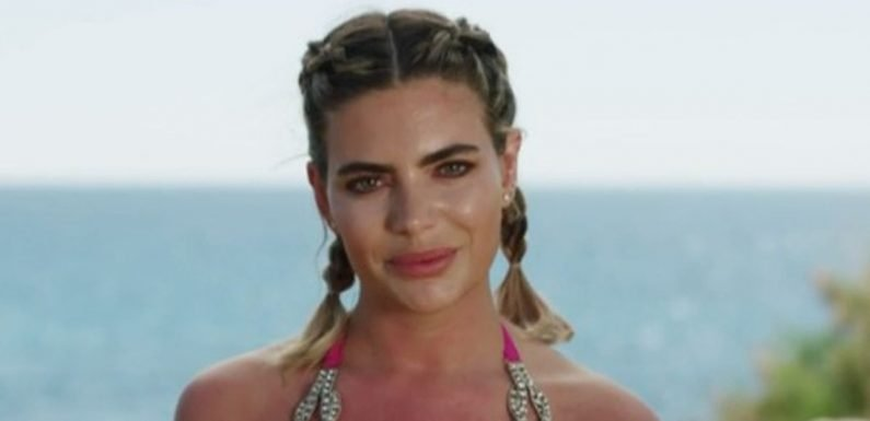 Glamour model Megan Barton-Hanson heads into Love Island