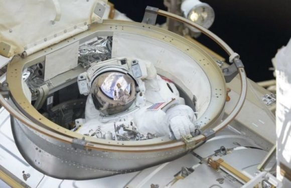 The Space Station Has New HD Cameras, Put In By NASA Astronauts During An Almost 7-Hour Spacewalk On June 14