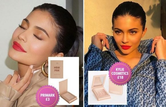 Primark has released a £3 beauty palette that's very similar to Kylie Jenner's – and costs six times less