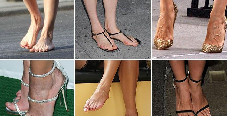 Can you spot the star from their feet? Take our picture quiz to find out