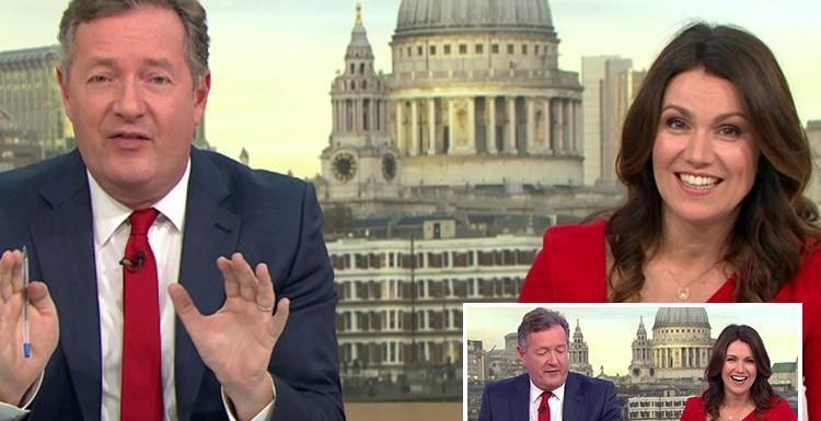 Susanna Reid jokes that Piers Morgan had managed to offend the whole of Scotland, builders, traffic control and Love Island's Niall Aslam in first hour of Good Morning Britain