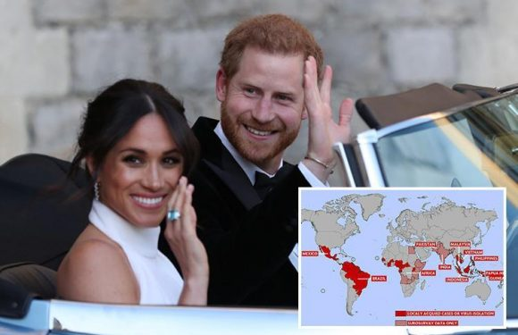 Zika fears after Meghan Markle and Prince Harry reveal plans to visit virus-hit Tonga and Fiji for first overseas tour