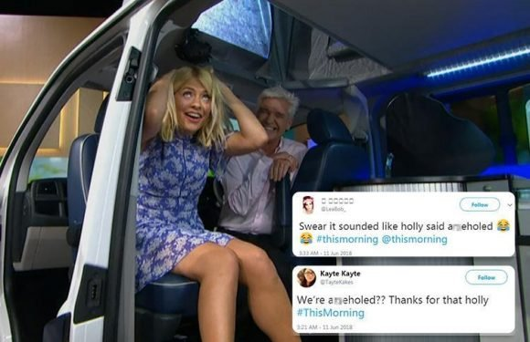 Viewers convinced Holly Willoughby accidentally swore on This Morning