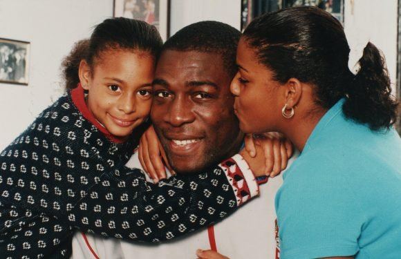 Frank Bruno to be grandad twice over as BOTH his daughters are pregnant