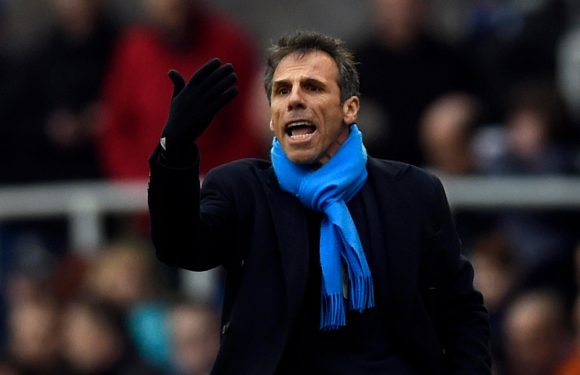Chelsea legend Gianfranco Zola admits he is in talks over return to Stamford Bridge as part of coaching staff