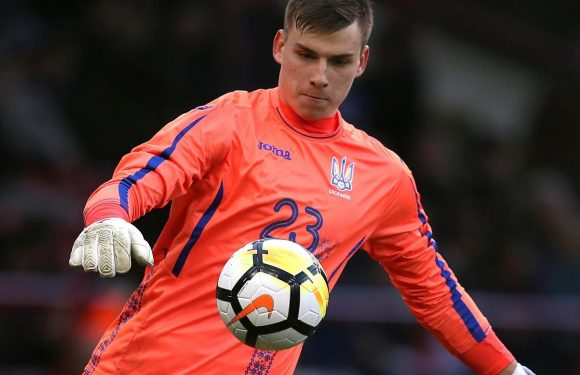 Real Madrid sign keeper Andriy Lunin as interest in David De Gea cools