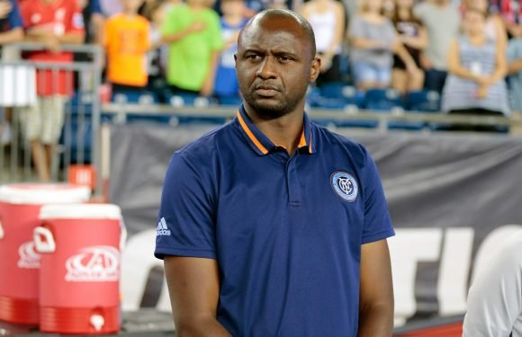 Patrick Vieira becomes Nice boss after quitting New York City FC