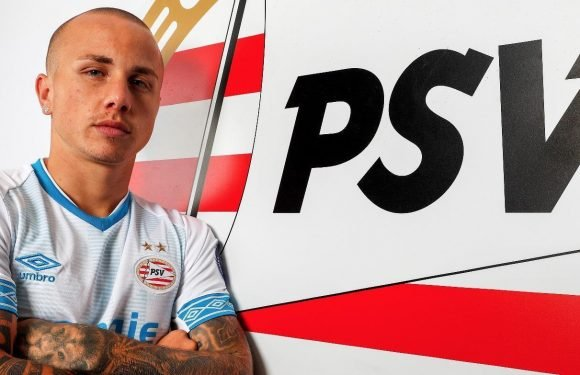 Manchester City starlet Angelino joins PSV Eindhoven in £5m deal