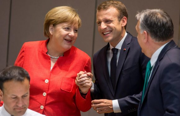 Angela Merkel saved as EU plans migrant camps in Africa because no state wants to host them