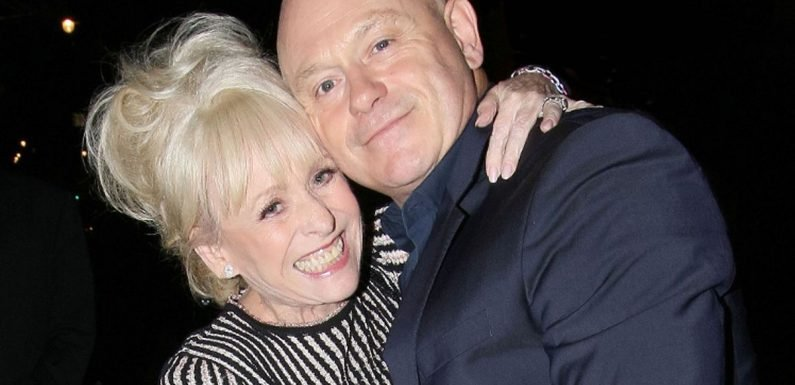 """Ross Kemp says Babs is """"relieved"""" people know about her Alzhiemer's diagnosis"""