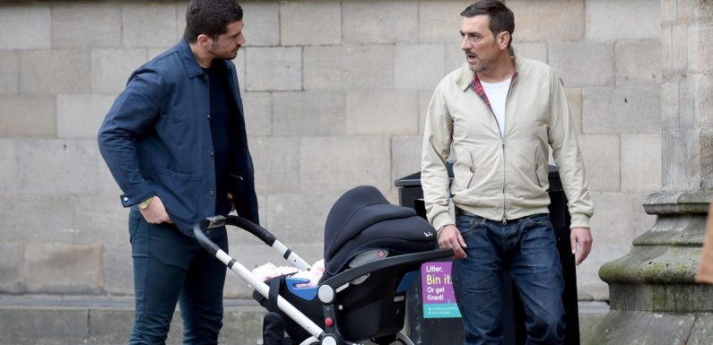 Corrie's devastated Peter Barlow clashes with Adam over Eva and baby Susie