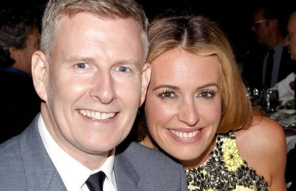 Cat Deeley welcomes baby boy with husband Patrick Kielty