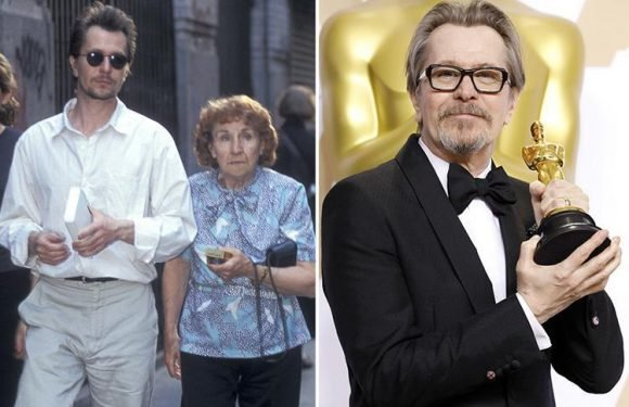 Gary Oldman's mum Kathleen, 98, dead as Oscar winner posts tribute to woman of 'great talent and mirth'