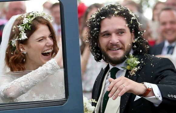 Kit Harington, Rose Leslie Get Married in Scotland: Photos