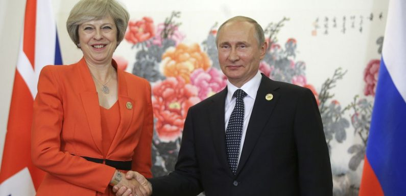 PM received £50k from Kremlin on same day she blamed Moscow for Skripal incident