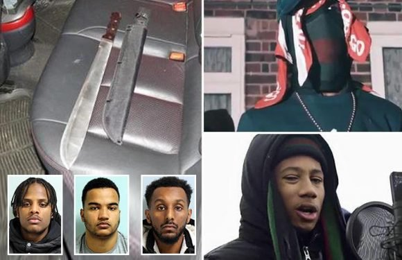 Machete gang who appeared on Tim Westwood's YouTube channel banned from making violent drill music videos