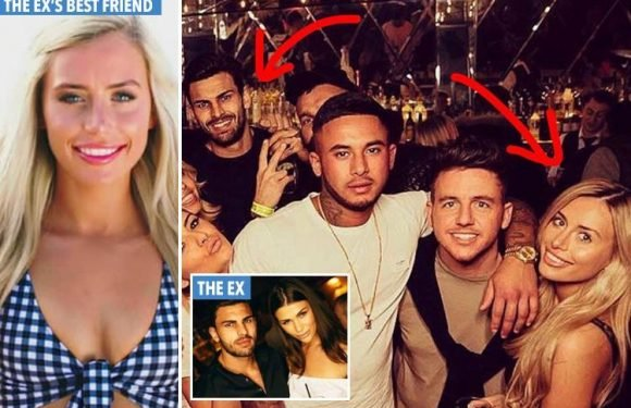Love Island newbie Ellie Brown already KNOWS Adam Collard after he dumped her best friend