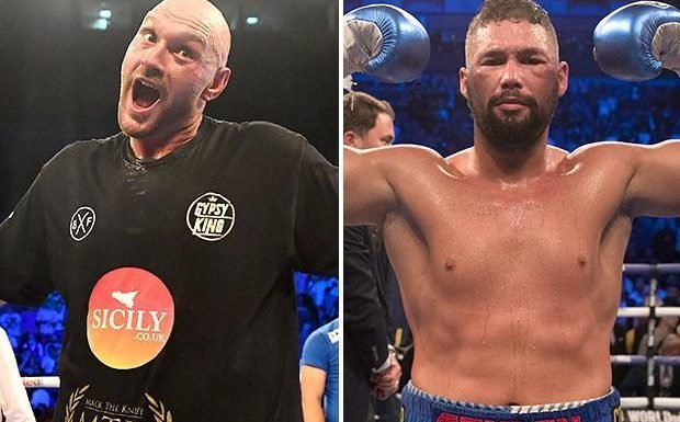 Tyson Fury called out by Tony Bellew with Bomber insisting he is 'quicker, hits harder and faster on feet'