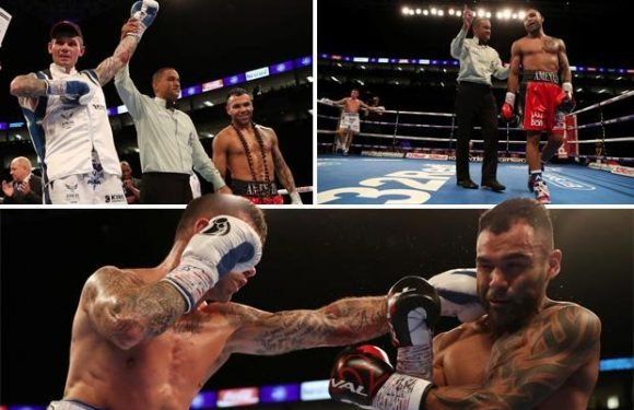 Martin Murray ends Roberto Garcia's eight-year unbeaten run to win silver title and set up clash with WBC middleweight champion Gennady Golovkin