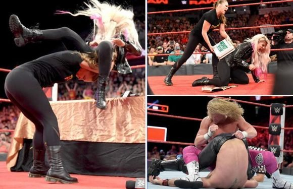 WWE Raw results: Ronda Rousey hit with 30-day suspension and Dolph Ziggler new Intercontinental champion