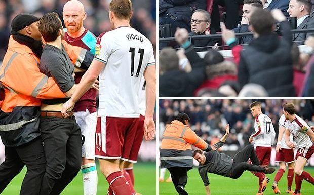 West Ham charged by FA over Burnley crowd trouble which saw joint-chairman David Sullivan hit by coin