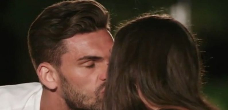 First Love Island kiss leads to tears with furious viewers slamming 'snakes'