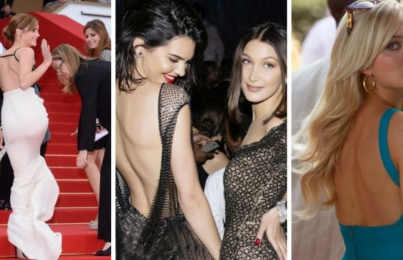 Look Back At It: 15 Celebs Who Rocked The Backless Look