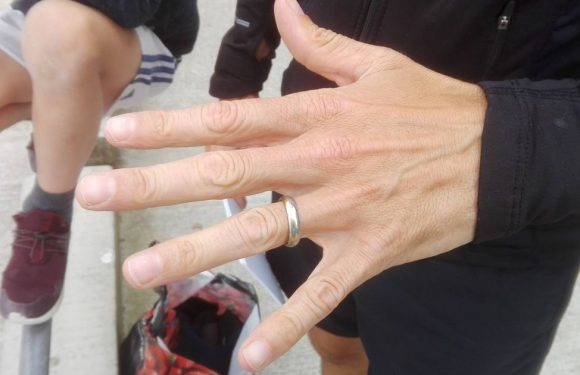 Wedding ring lost at bottom of lake for two months reunited with owner