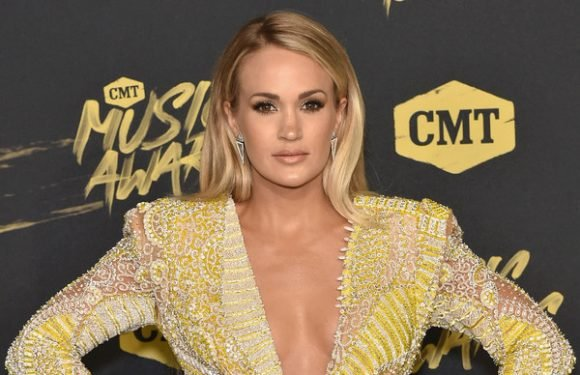 Carrie Underwood Just Hit The Red Carpet For The First Time Since Her Accident