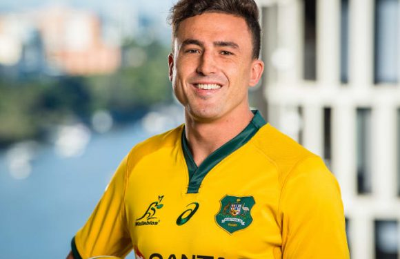 The reason why Tom Banks has to thank mum and dad for Wallabies call