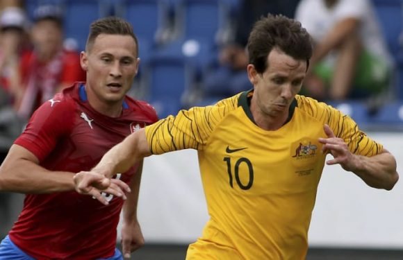 Kruse free to fly in new-look Socceroos attack