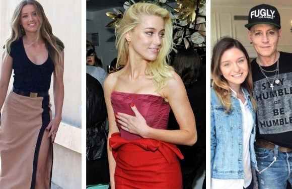 20 Pics Of Amber Heard Doing A 180 Since Split From Johnny Depp