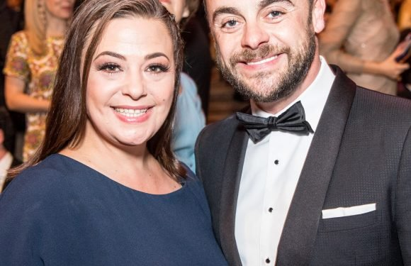 Awkward! Ant McPartlin's new 'girlfriend' planned his anniversary party