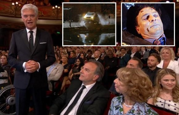 British Soap Awards 2018: Coronation Street fans convinced villain Richard Hillman is making a return from the grave after they spot him in the audience