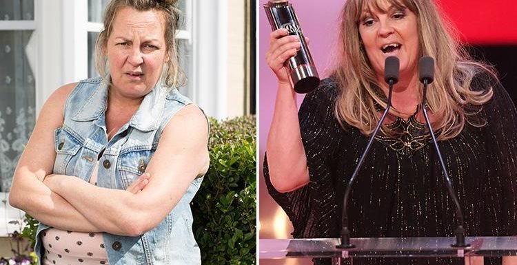 British Soap Awards 2018: EastEnders fans can't believe their eyes as Lorraine Stanley glams up and looks completely different to Karen Taylor