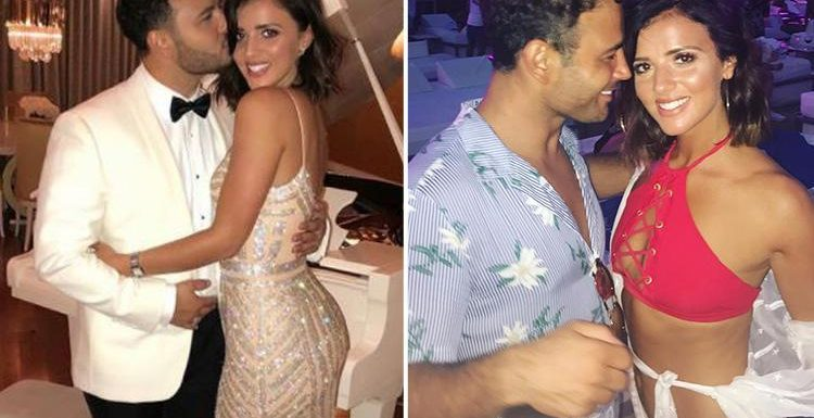 Ryan Thomas and Lucy Mecklenburgh BACK TOGETHER 72 hours after splitting following blazing row over Corrie star's 'wandering eye'