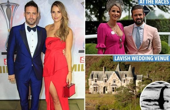 Spencer Matthews, 28, and Vogue Williams, 32, plan to wed in a secret ceremony next week at Loch Ness