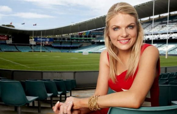 The Footy Show's Erin Molan welcomes first child the same day as Origin game 1