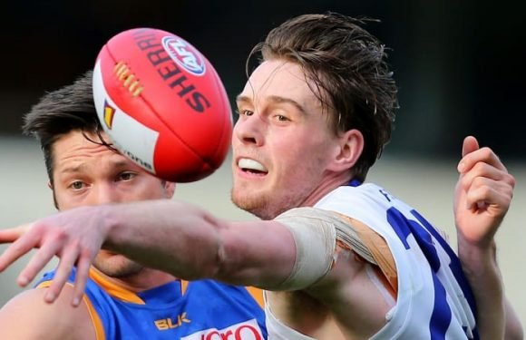 With wet conditions forecast the Western Bulldogs drop Jordan Roughead