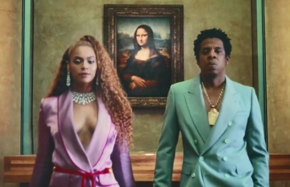 Jay-Z Slams Super Bowl, Grammys in 'Apes—' Video With Beyonce (Watch)