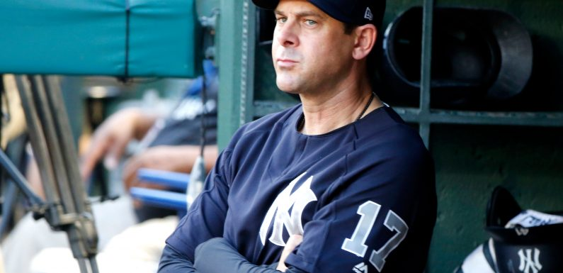 Aaron Boone already excelling in one facet of managing