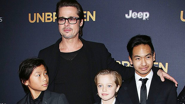 Brad Pitt Gets His Wish — Spends Father's Day With His Kids In London After Long Custody Battle