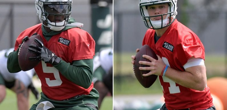 Jets quarterback battle shapes up as most interesting ever